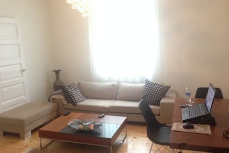 75 m2, close to metro and Park area