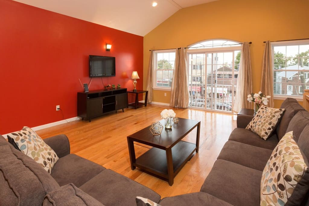 Spacious apt 4 bedrooms 2 baths 20 minutes to nyc - 2 bedroom apartments for rent jersey city ...
