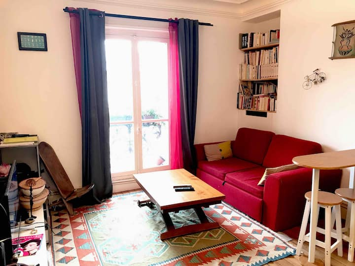 Bed and breakfast 10 min. from Bastille