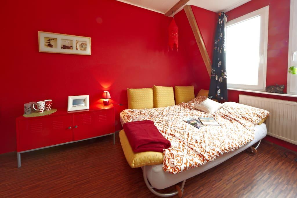 Komfortables Schlafsofa - comfortable bedsofa