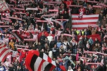 You will love the atmosphere in the oldest soccer stadium in the netherlands. come to a match and be SPARTA fan for the rest of your life!1