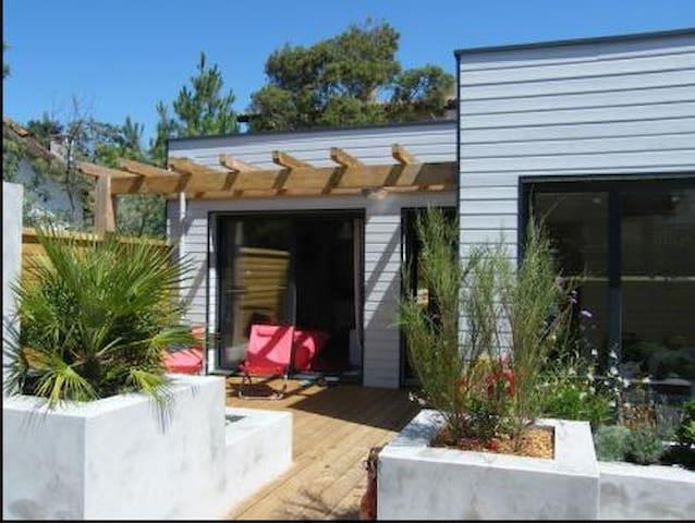 Maison neuve bois  400m de la plage - Mimizan - Huis