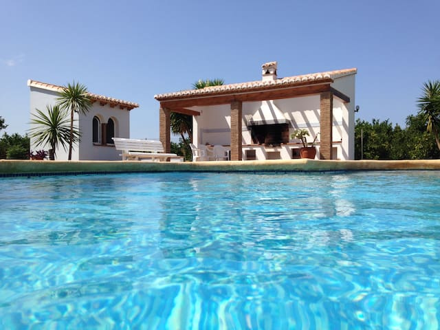 Amazing villa with private pool - Ondara - Dom
