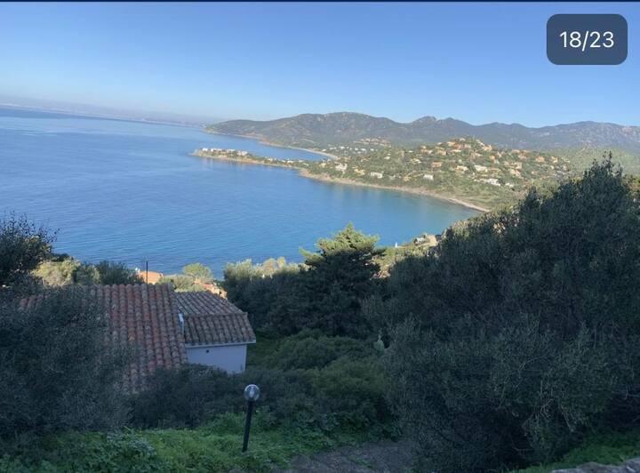 Villa Ivonne vista incantevole sul mare