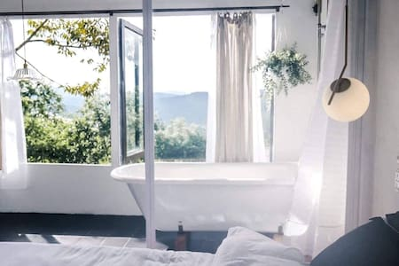 View 1 room :greenhouse - view room with bathtub