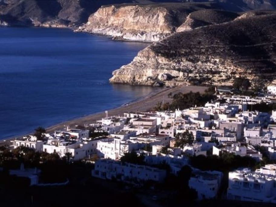 VIEW OF AGUA AMARGA