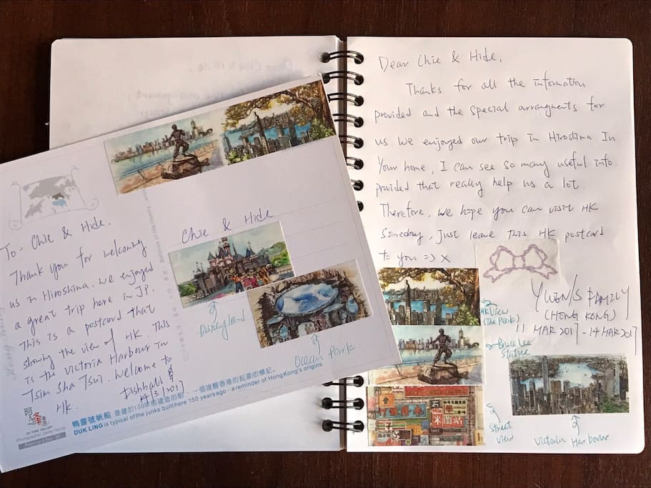 Airbnb Guest Book