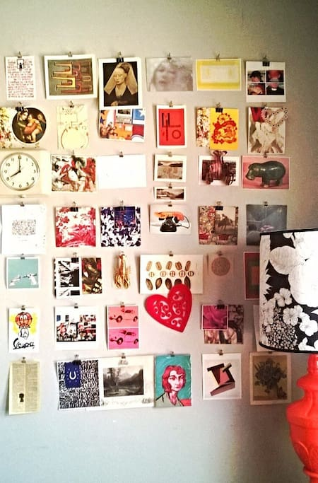 Pin wall...for a time before pintrest