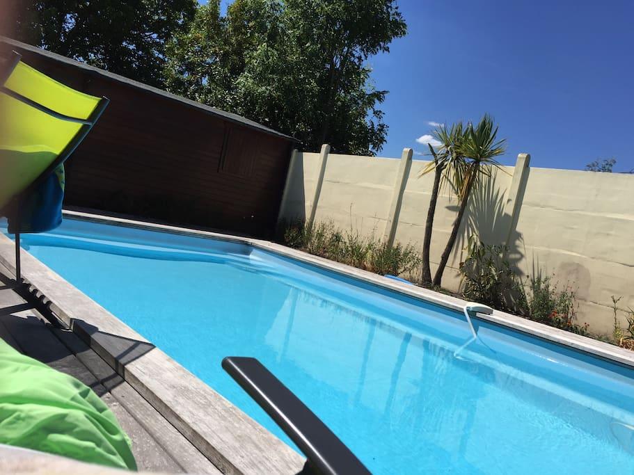 Maison de charme avec piscine houses for rent in la - Piscine la teste de buch ...