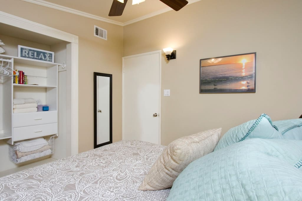 Bright and inviting Guest Room.