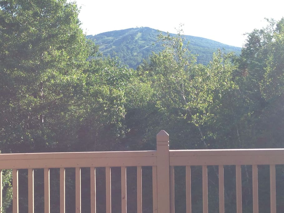 View from Deck of summit of Mount Snow