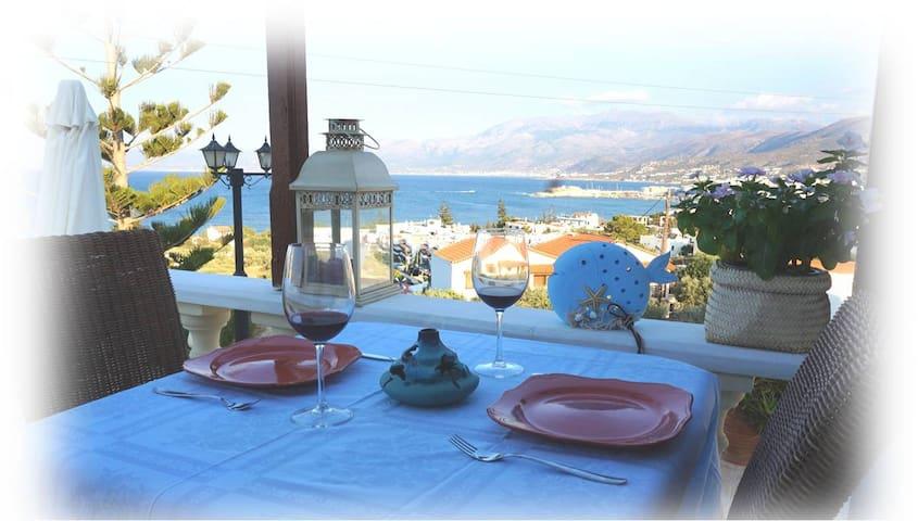 Panoramic sea view penthouse