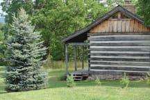 Civil War Era Log Cabin