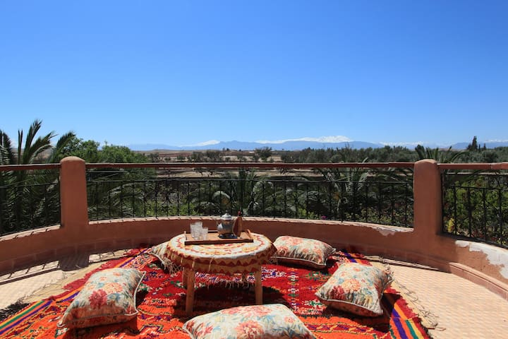 Rokaya's Oasis, Marrakech Valley - Chichaoua Province - House