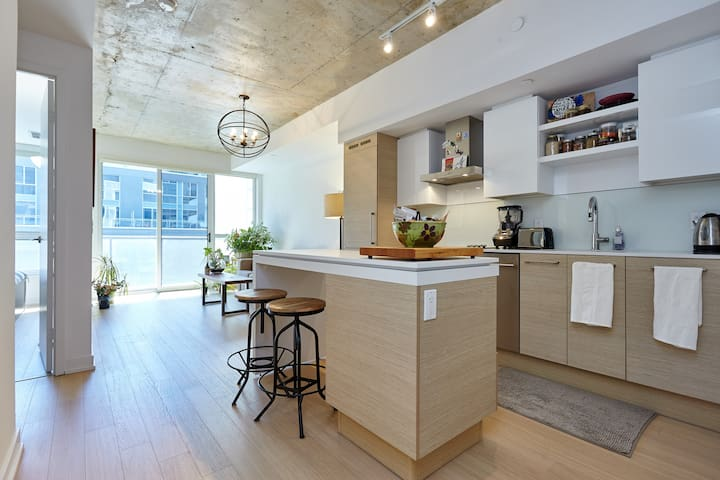 Stylish Trendy Loft at Queen West - Toronto - Pis