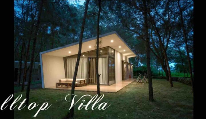 Peaceful HILLTOP villa / Flamingo Dai Lai/FULL 1Br