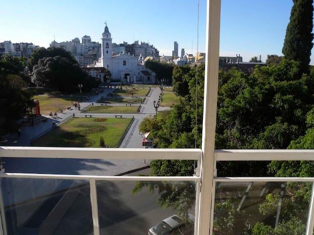New & Unique Location View Recoleta