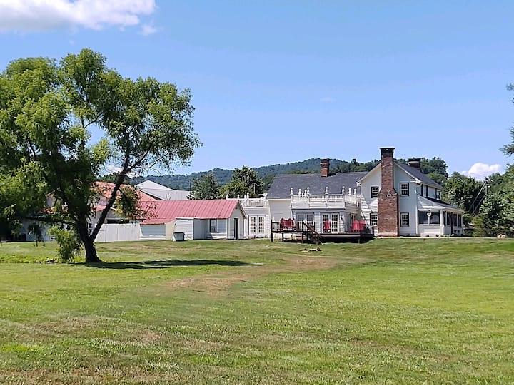 The Historical Addington Mill House.
