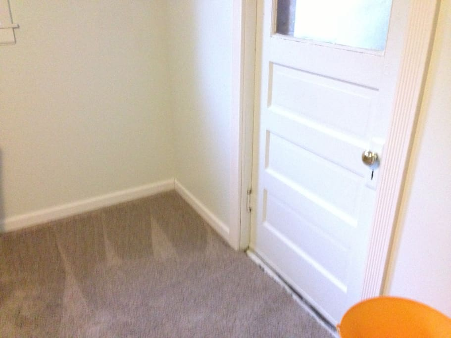 Private sidewalk and Private Entry door