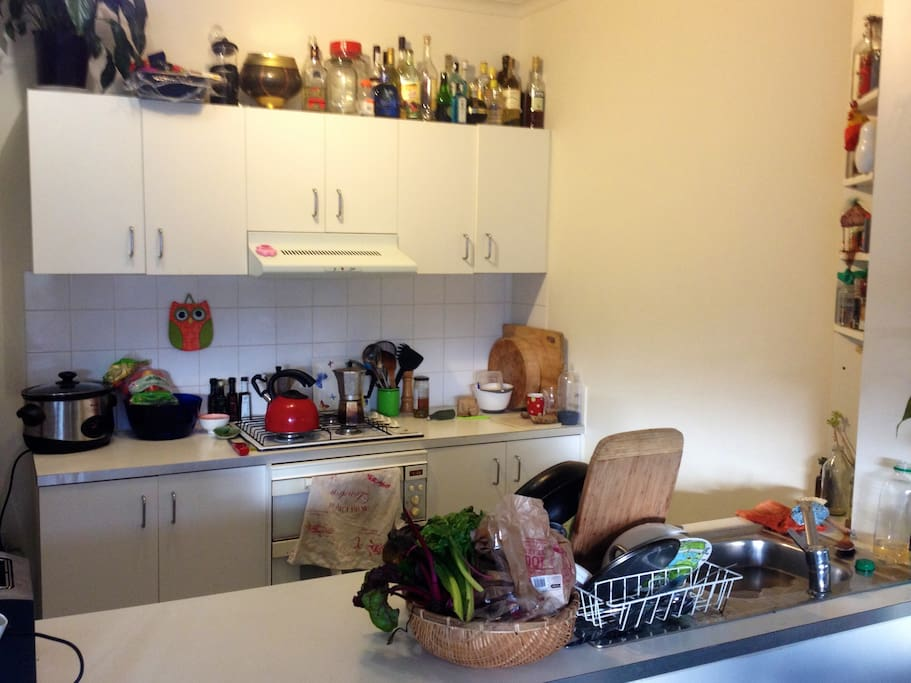 Kitchen is available for use