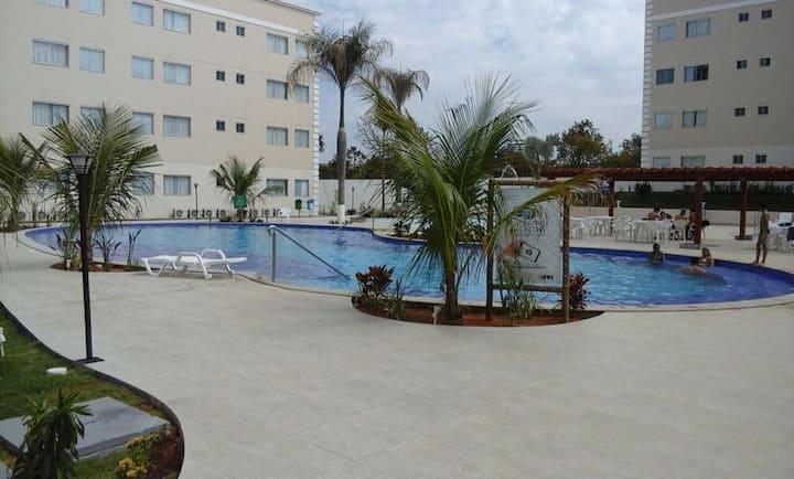 Apartamento Inteiro Thermas Resort EAD