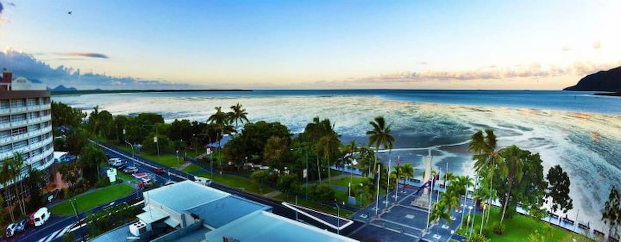 Cairns Apartment Esplanade Ocean Views