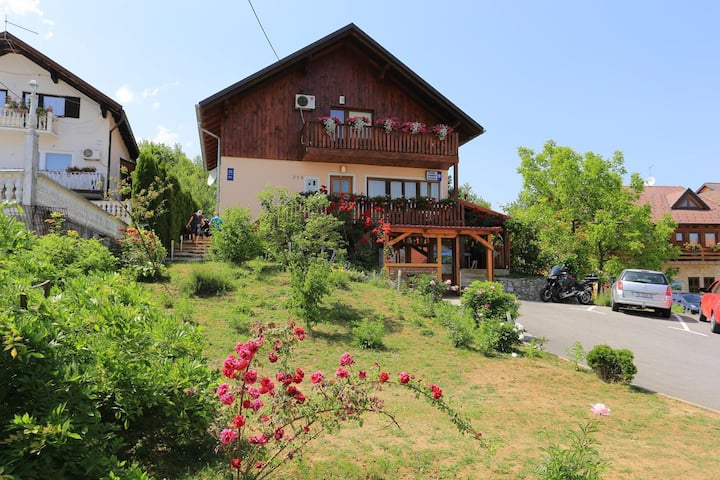 Studio flat with balcony Grabovac, Plitvice (AS-17531-a)