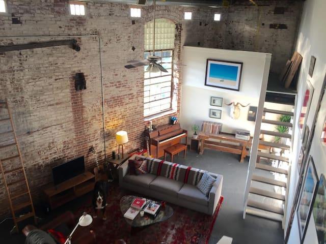 Historic Loft Directly on Atlanta's Beltline - Atlanta - Loft