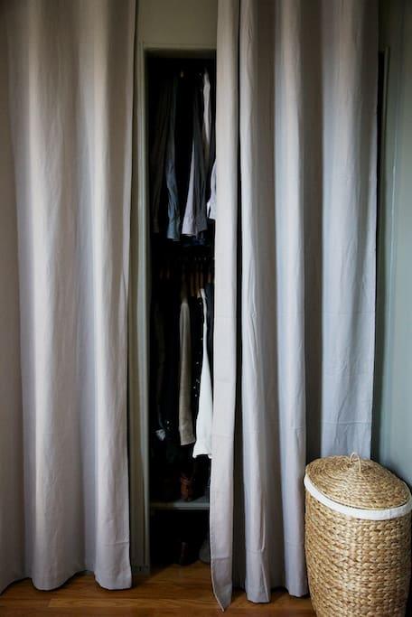 Closet.