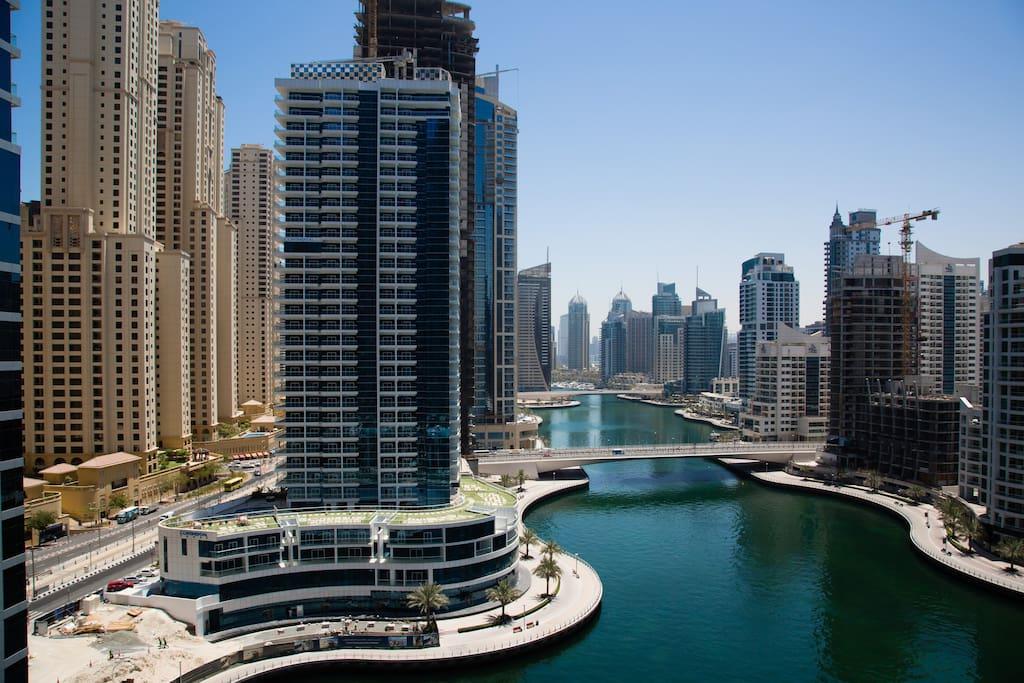 Welcome to Dubai Marina