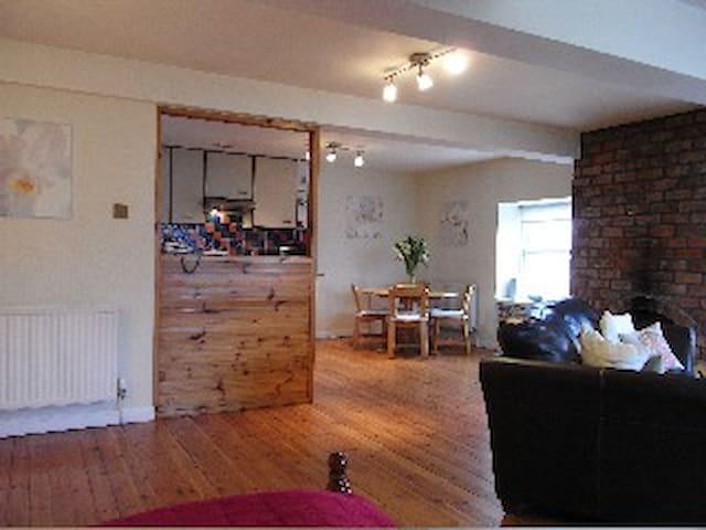 Bright Spacious Leith Studio Apartment - Edinburgh
