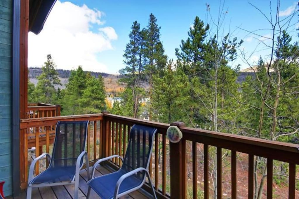 Amazing Keystone views from your deck!