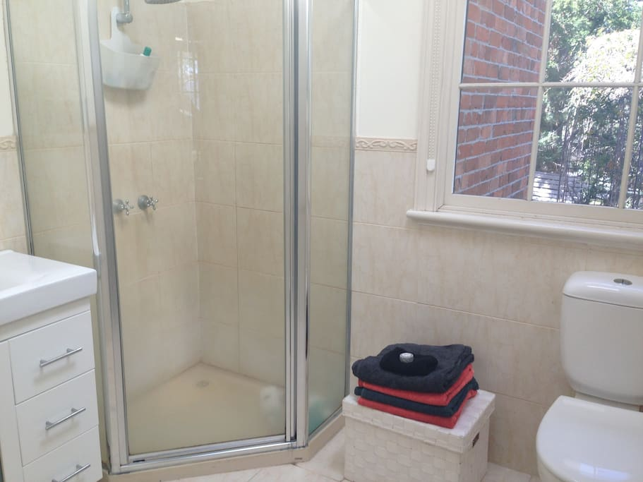 Large private ensuite with shower