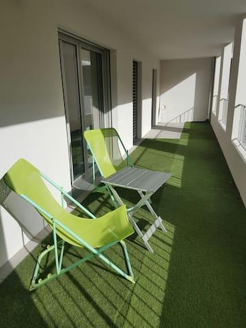 Nice sunny flat Down Town Joliette Marseille - Marseille - Apartment