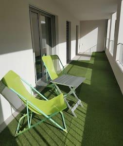 Nice sunny flat Down Town Joliette Marseille - Marsylia - Apartament