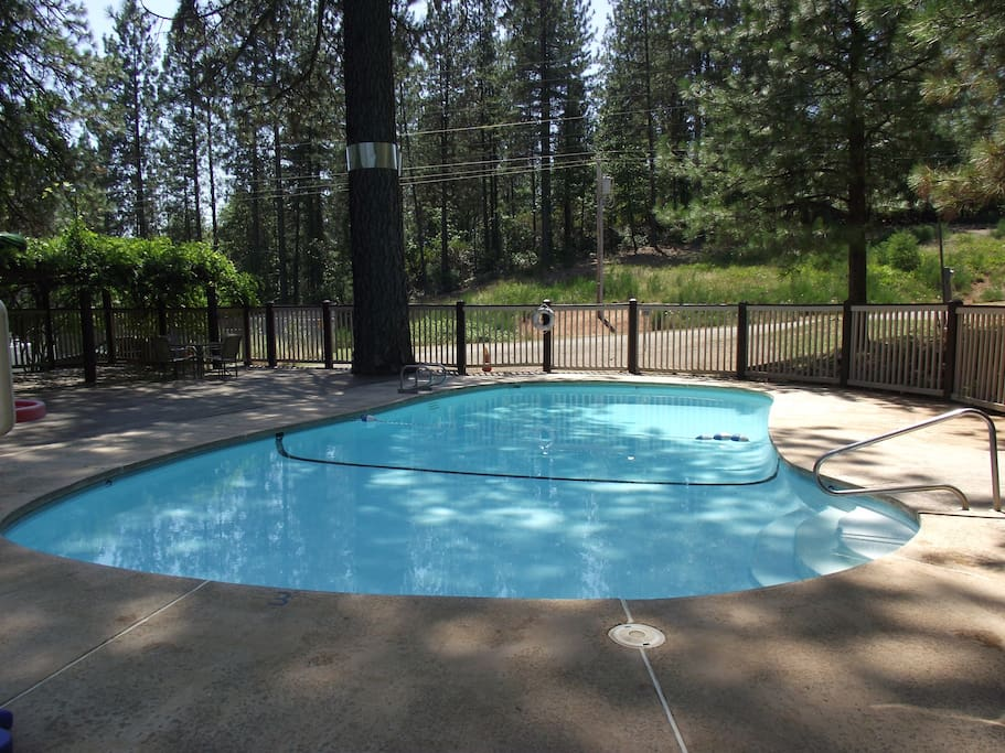 Guests may enjoy full access to the Seasonal Pool on adjoining property