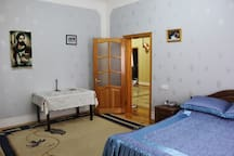 2nd Floor, 2nd Bedroom: Double bed, additional bed possible, Wi-Fi,  TV, wardrobe.