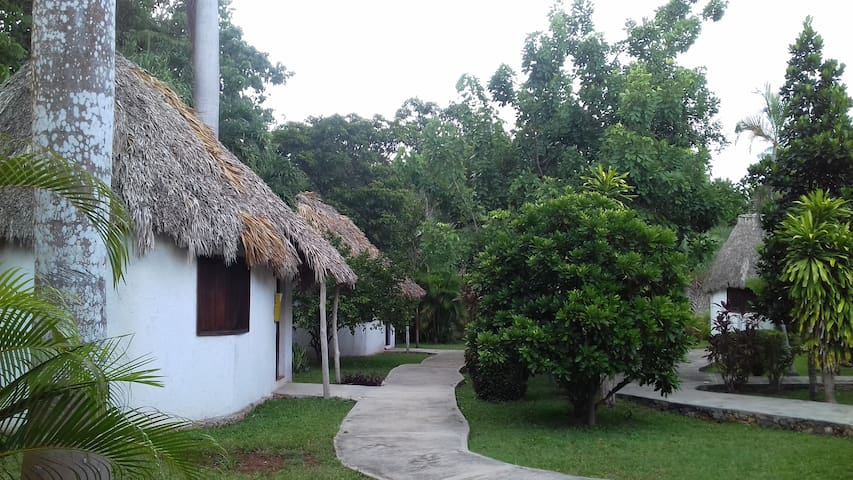 villas del angel hotel
