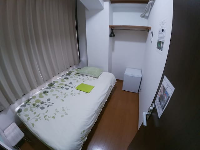 No.202  1 people Semi double bed  120cm x 200cm
