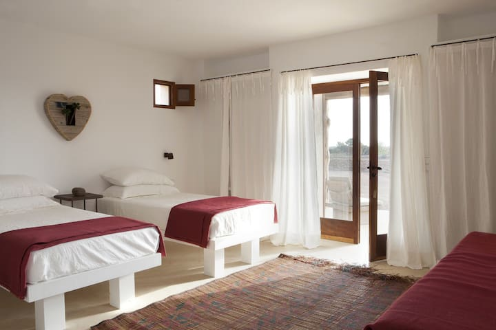 Lovely room in a luxury  villa in Formentera - Formentera - House
