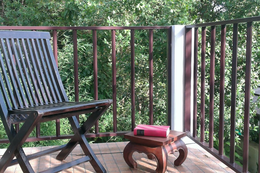 fancy reading a book in the afternoon sun on your balcony?