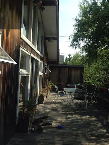 Zen 60s Mod Beach House - Saltaire - Hus