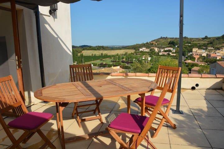 maison ensoleillée en  languedoc - Fouzilhon