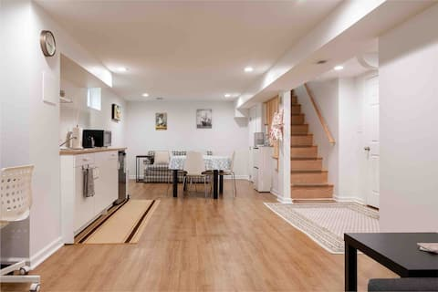 Brand New Cozy Entire Basement Apartment Near DC
