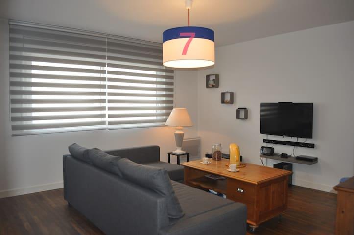 Appartement idéalement situé - Étel - Leilighet