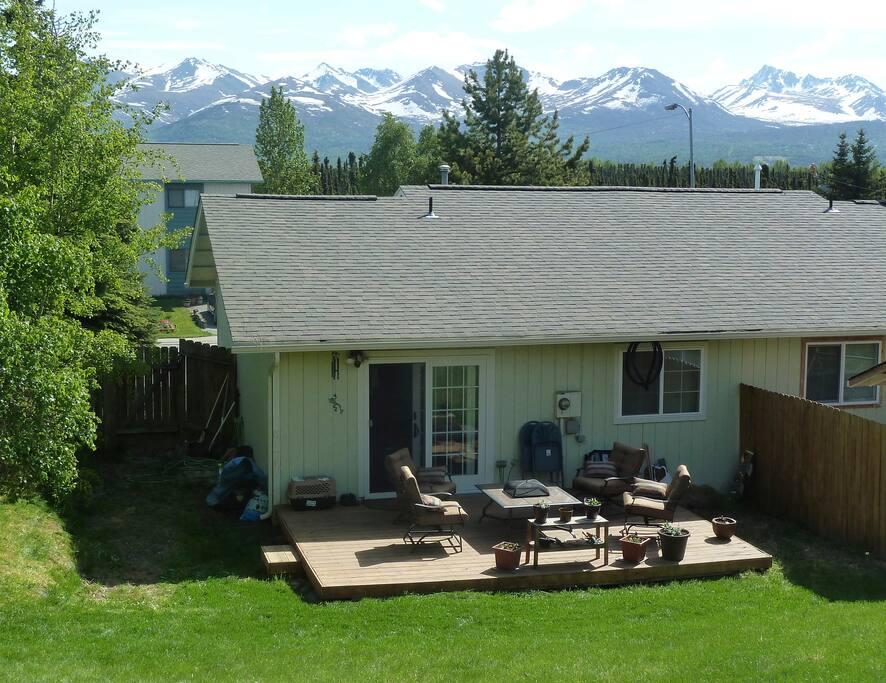Backyard View!