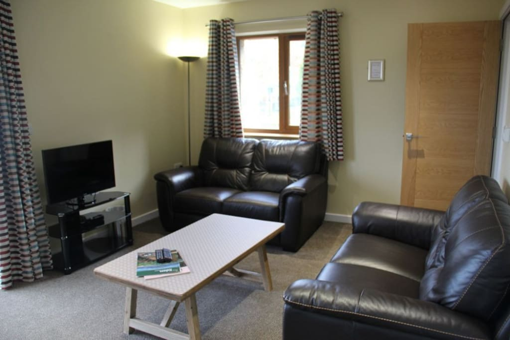 Cherry Cabin, lounge, Lakes Cottage Holidays