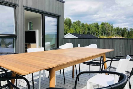 New modern 4-bedroom house in beautiful Telemark!