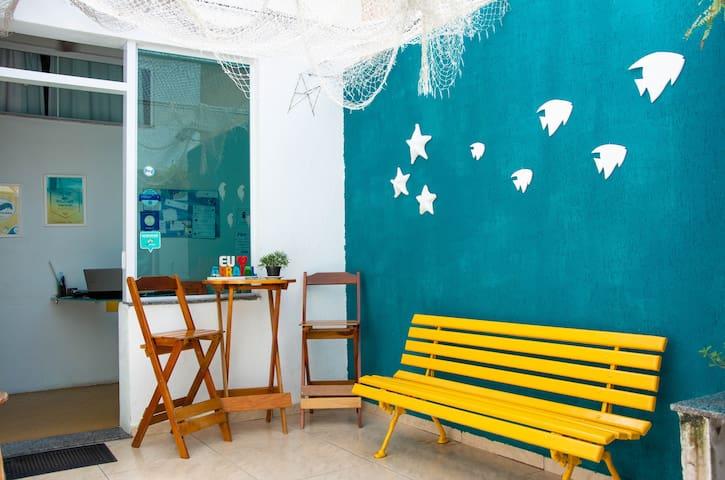Acomodação privativa, Hostel em Arraial do Cabo :)