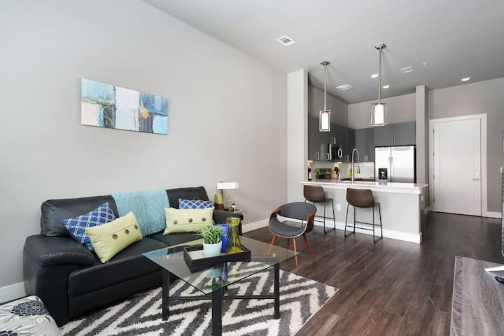 Designer + Modern 1 BR Apt in Downtown